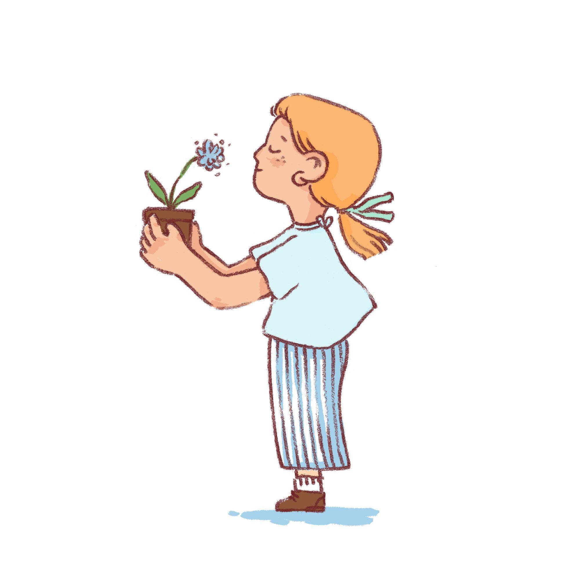 Petite fleur, 2020.
